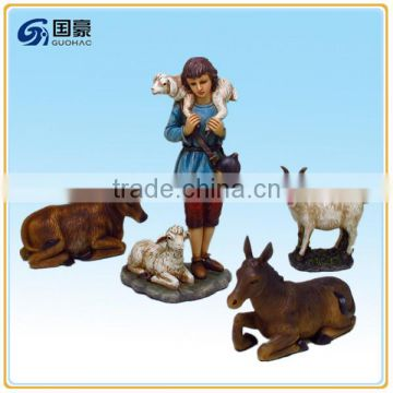 Home Decoration Use and Resin Material nativity set for sale