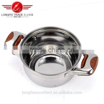 good quality best selling stainless steel soup pot set/cooking pot