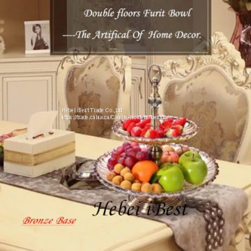 Sell double floors of Fruit Bowl in Europe Style