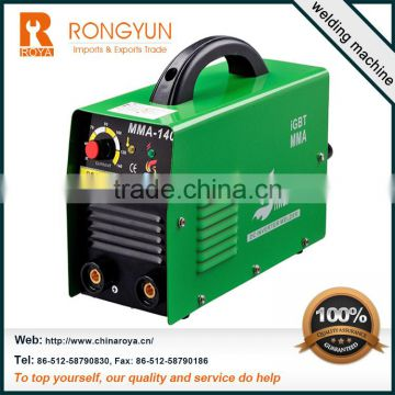 High Quality 400 amp welding machine and dc inverter arc welding machine