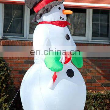 Inflatable christmas snowman for yard decoration