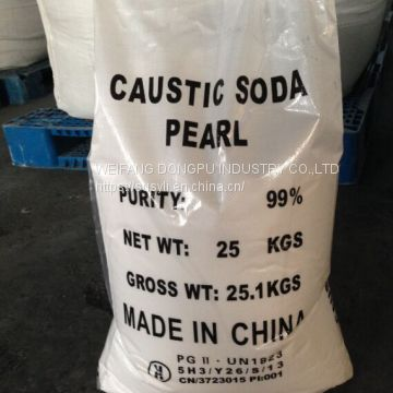 Good price 99% caustic soda water treatment / industrial use on sale