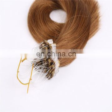 High quality virgin human hair 100% wholesale 5A 6A 7A 8A virgin remy human ombre micro loop ring hair extension