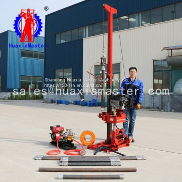 portable sampling rig 50 m geological exploration rig small rig equipment diesel engine power