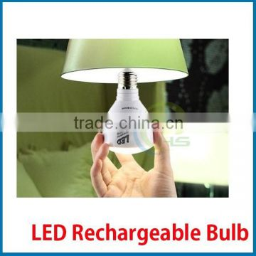 Emergency led bulb rechargeable 4-6hours after full charge e27 ce,rohs ,rechargeable battery for led bulb light