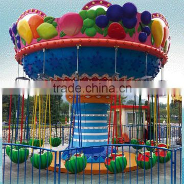 SALE! Fruit flying chair,funny theme park equipment for sale swival chair