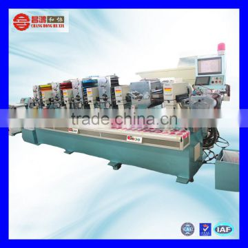 CH-280 Low price full rotary letterpress label printing machine from China
