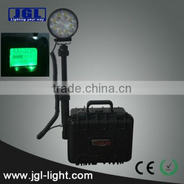 Waterproof Remote Area LED Work Light, protective case