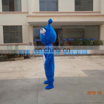 New year performance costume water drop mascot costumes