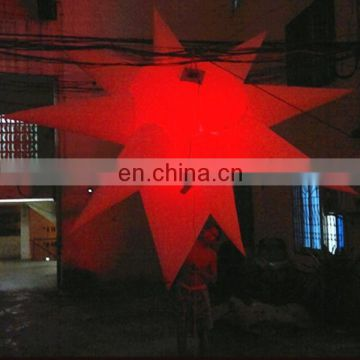 Special inflatable star for event decoration