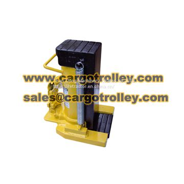 Hydraulic toe jack is a convenient tool