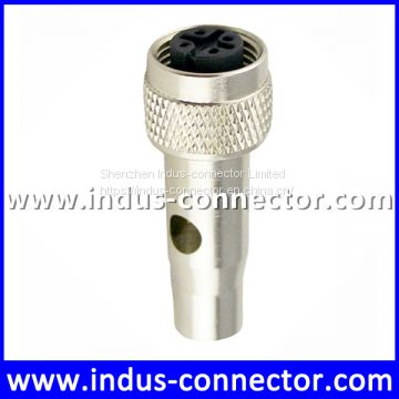 Ip 67 protection class a code shielded 4 contacts m12 automotive moulding connector for industry