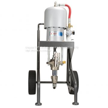 Air-powered paint sprayer piston pump THT 63:1
