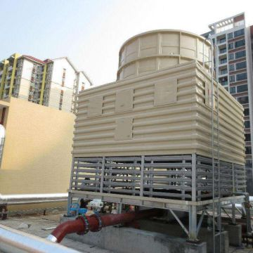 Couter-flow Copper Coil Hyperbolic Cooling Tower Design Counter Flow Closed Cooling