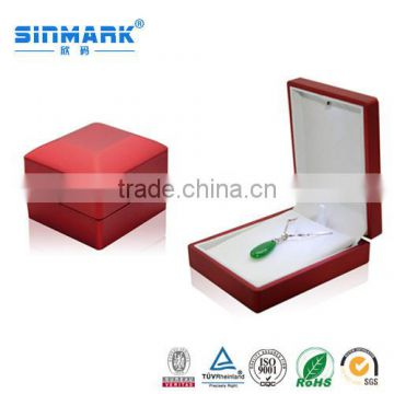 Luxury Wedding Box Necklace with LED Light Jewelry Box Gift Box New Luxury Packaging Case for Gift Jewelry, Jewelry Led Case                                                                         Quality Choice