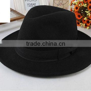 f4d57512 Wholesale Sakkas Grant Western Style short Brim Wool Fedora Hat fashionable  Europen Vintage Style mens wool felt fedora hat of Headwear items from China  ...