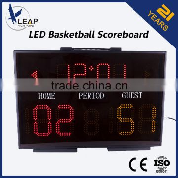 Light electronic led portable basketball scoreboards                                                                         Quality Choice