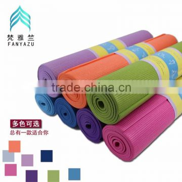 MIC5030 New PVC custom printed yoga mat in gymnastics, 6mm, high grade multi-function fitness indoor sport exercise mats