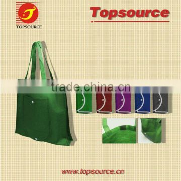 Hot Sale Mini Cheap Colorful School Kids Handmade Folding Eco-friendly Non-woven Bag for promotion