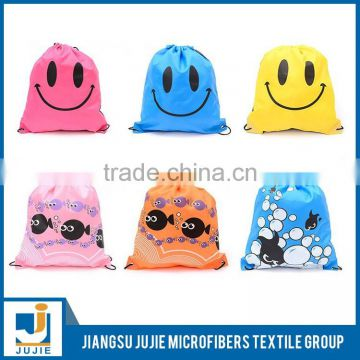 2017 Wholesale fashion causal nylon laundry bag drawstring