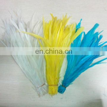 Wholesale factory price 30-40cm rooster tail feathers