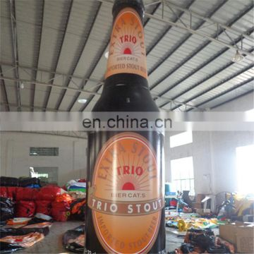 China Supplier giant inflatable beer bottle,promotional toys,EN71 approved
