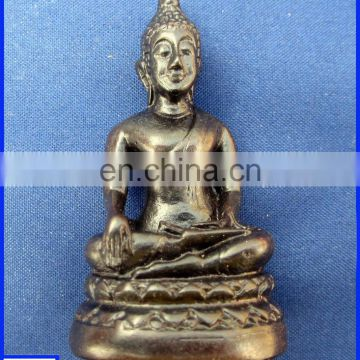resin golden ganesh figurine Indian Buddha