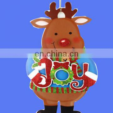 2017 new Hot sell Christmas Door Decoration Christmas door hanging avaliable 3 style