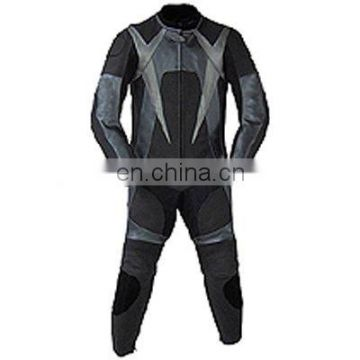 HMB-2104A MOTORCYCLE BIKER LEATHER JACKETS SUITS RIDING WEARS