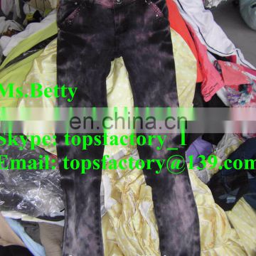 Top quality grade used clothing in bales