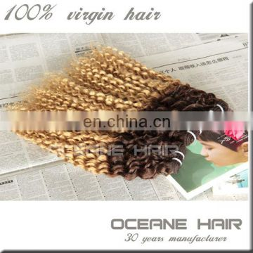 Best selling products 100 grams hair weaving weft fusion extension ombre color hair extensions