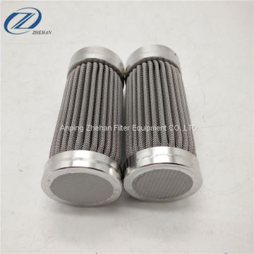 stainless steel wire mesh pleated filter screen/pleated filter media