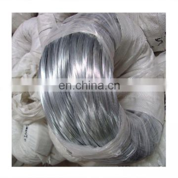 Hot sale high zinc coated galvanized low carbon steel wire