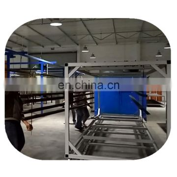 Automatic Powder coating line for aluminium profile- curing oven_recovery system