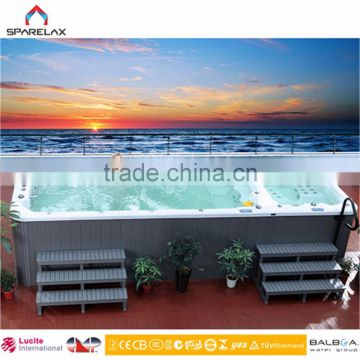 6 meter Wholesale large outdoor pool Villa Warm spa Pool swimming pool---(SRP-650)