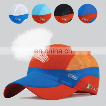 Summer quick-dry baseball cap breathable mesh sun sport hat lightweight outdoor hunting running fishing UV man women gorras bone