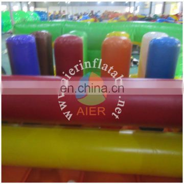 10m obstacle course/commercial inflatable obstacle course for rental