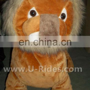 Retail Price Lion battery operated battery walking animal For Events