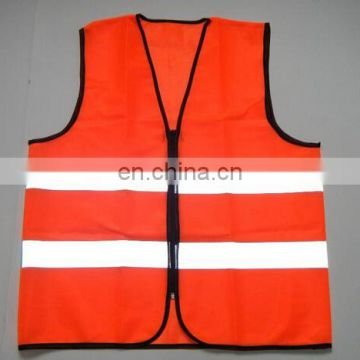 2017 Hi Vis wholesale knitted fabric reflective safety vest