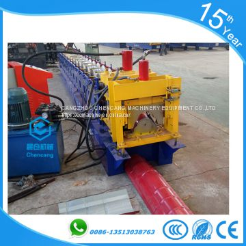 312 Ridge Cap Tile Roll Forming Machine