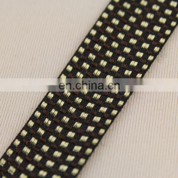 2015 Most popular ribbons with grid for garment RB0385