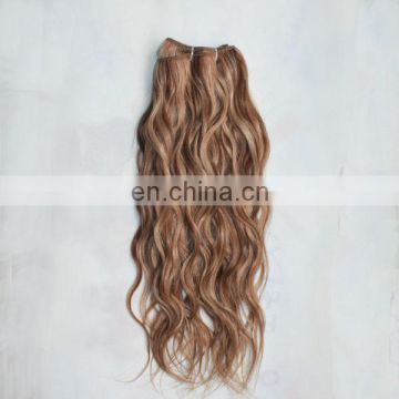 Alibaba best selling products remy hair extension natural wave blonde color virgin russian hair wholesale accept paypal