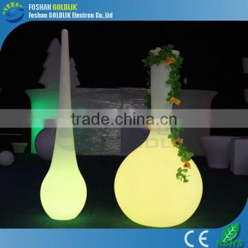 GLACS Control Outdoor Plastic Lamp Shade LED Landscape lamps Floor Lamp