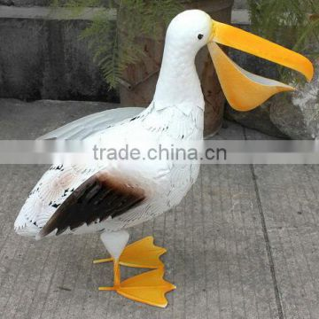 Animal ornaments metal duck