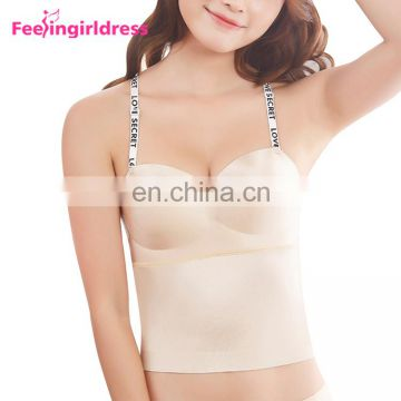 Latest Design Wholesale Sensual Curves Nude Women Very Sexy Push Up Bra