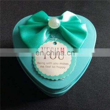 Sweet design bowknot onside the box for decorations