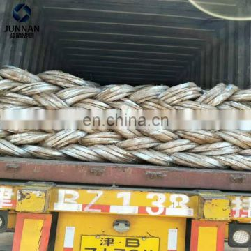 prime quality galvanized coated gi steel wire 5 kg/roll weight per roll