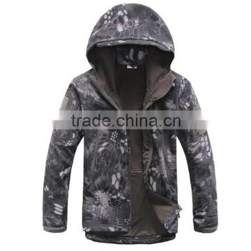 men outdoor military jacket softshell hunting clothing for winter, TAD V4.0 military uniform                                                                         Quality Choice
