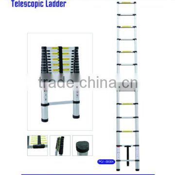 9 steps Muliti -purpose Telescopic Aluminum Alloy ladder straight type