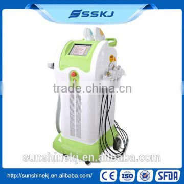 8 in 1 ipl shr laser for beauty salon with multifunctional systems